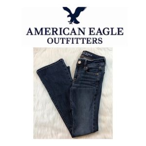 American Eagle Boot Cut Jeans 0